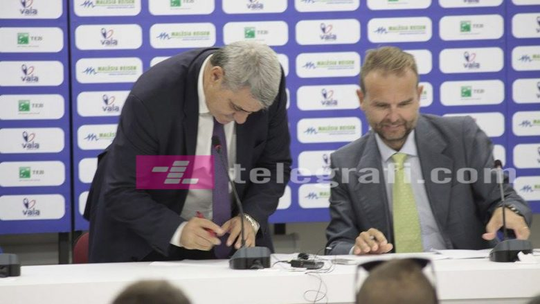 Nënshkruhet marrëveshja mes FFK-së dhe 'Kelme' për fanellat e Përfaqësueses së Kosovës (Foto/Video)