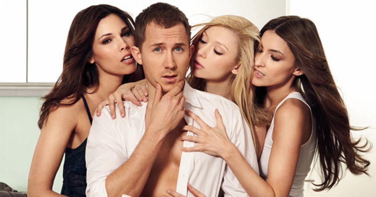 передача с тремя девушками и тремя парнями видео большинства женщин оно