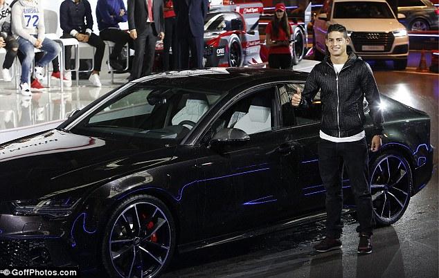 Çmimi i veturës së James: 304,770 euro.