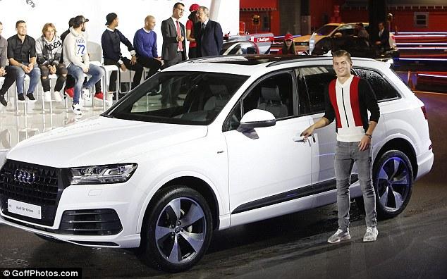 Çmimi i veturës nga Kross: 73.950 euro