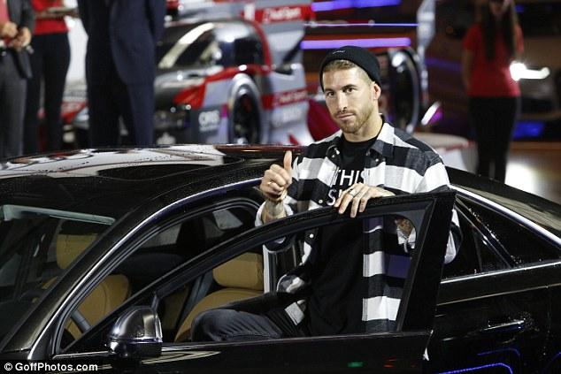 Sergio Ramos - Audi S8 plus 4.0 TFSi 605 CV - Çmimi: 160,570 euro.