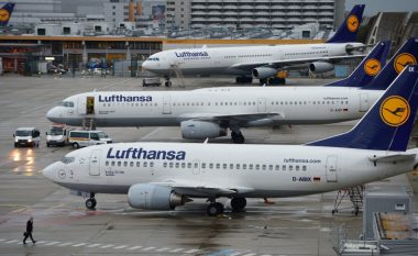 Lufthansa hap linjë ajrore Prishtinë-Beograd