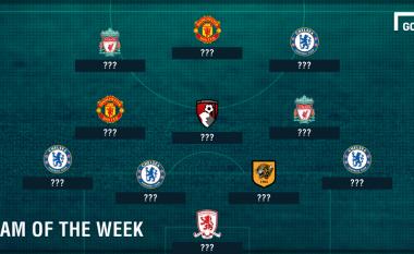 Formacioni më i mirë i javës së 11-të në Ligën Premier, shumë befasi në të