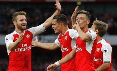 Formacioni i mundshëm i Arsenalit ndaj Unitedit, Wenger iu beson shqiptarëve (Foto)