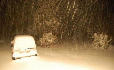 Bie bora e parë në Shkup, sonte priten reshje të borës në të gjithë territorin