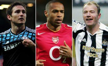 Futbollistët me më shumë gola në histori të Ligës Premier (Foto)