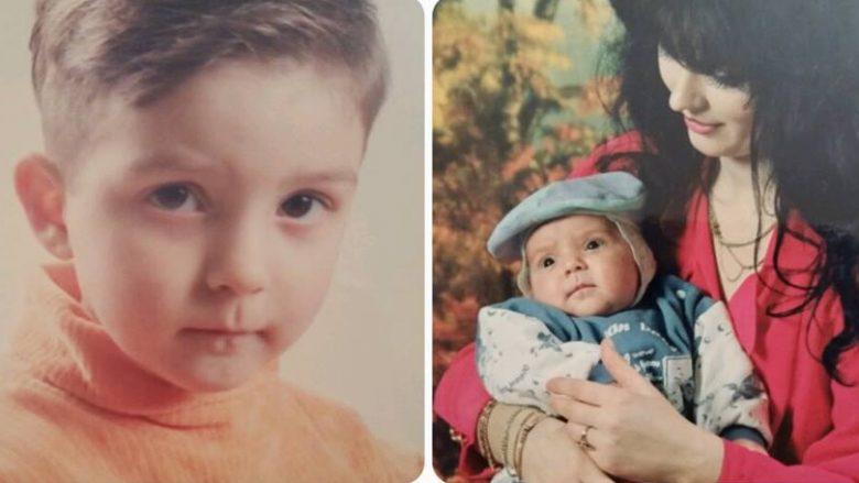 Kështu dukej Mihrije Braha me djalin e saj kur ishte shumë më e re (Foto)