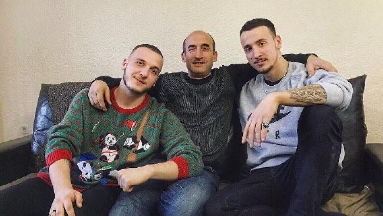 Mozzik dhe Getinjo prezantojnë babanë e tyre, ja cili i ngjan më tepër  (Foto) - Telegrafi