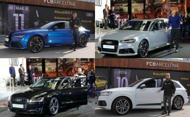 Real Madridi mposht Barcelonën për veturat Audi, shikoni super veturat e shtrenjta të madrilenëve