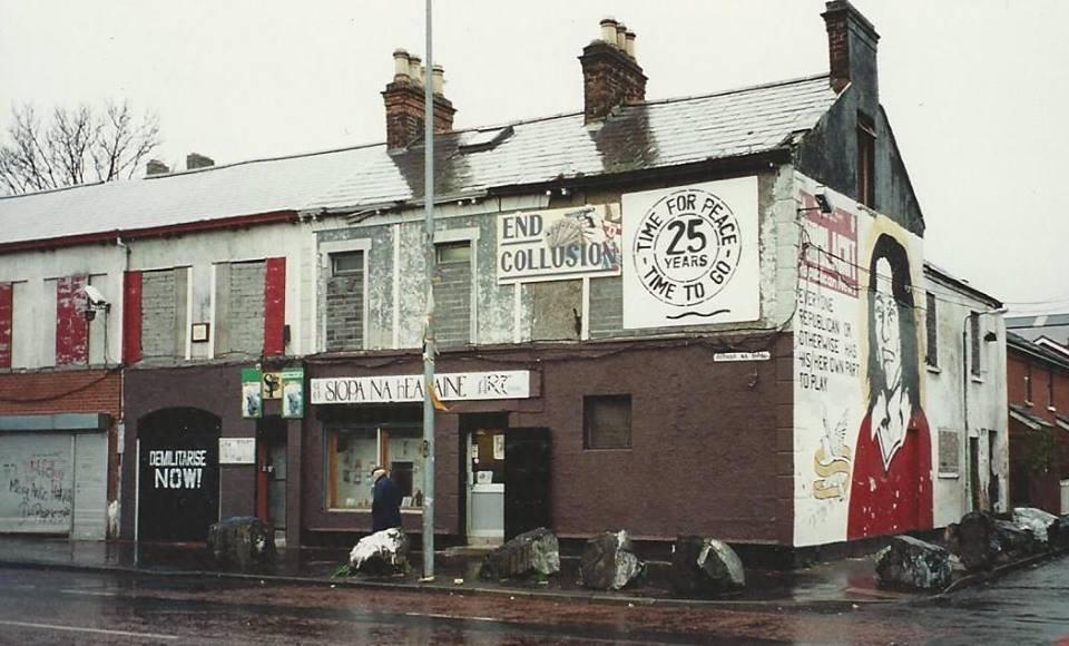 Selia e dikurshme e Sinn Fein-it në Belfast