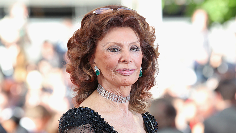 "CANNES, FRANCE - MAY 24: Sophia Loren attends the Closing Ceremony and ""A Fistful of Dollars"" screening during the 67th Annual Cannes Film Festival on May 24, 2014 in Cannes, France. (Photo by Gisela Schober/Getty Images)"