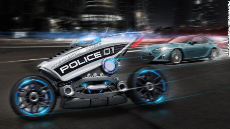 Superveturat e policisë (Foto)
