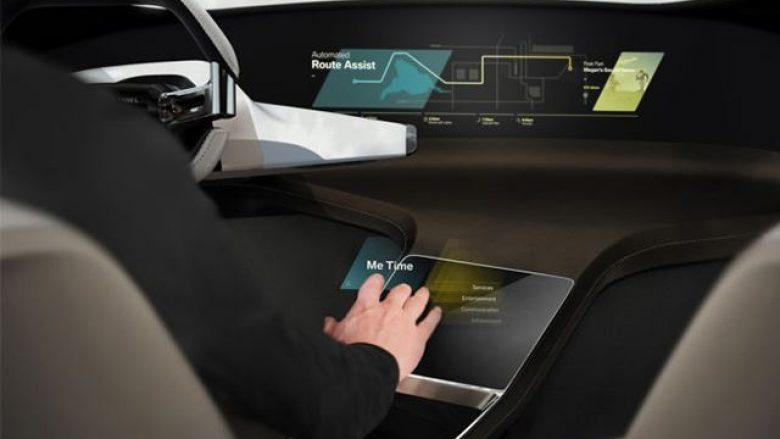Enterieri i mahnitshëm i BMW-së: Teknologji e lartë me ndjeshmëri në prekje (Foto)