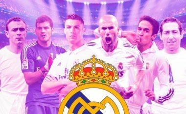 Kush është lojtari më i mirë në histori të Real Madridit? (Foto/Video)