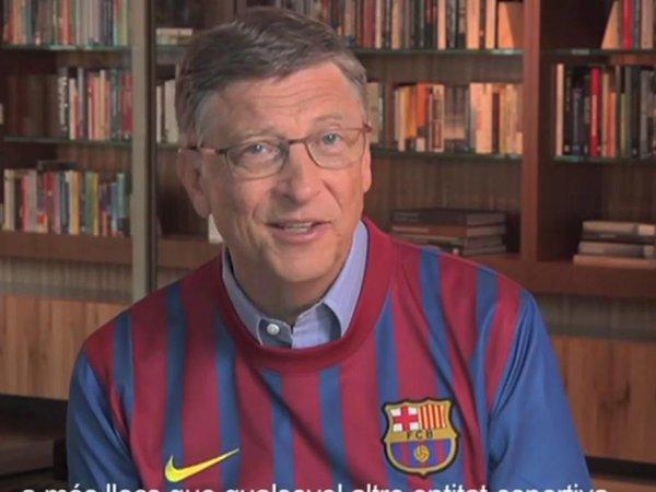 Barça: Bill Gates