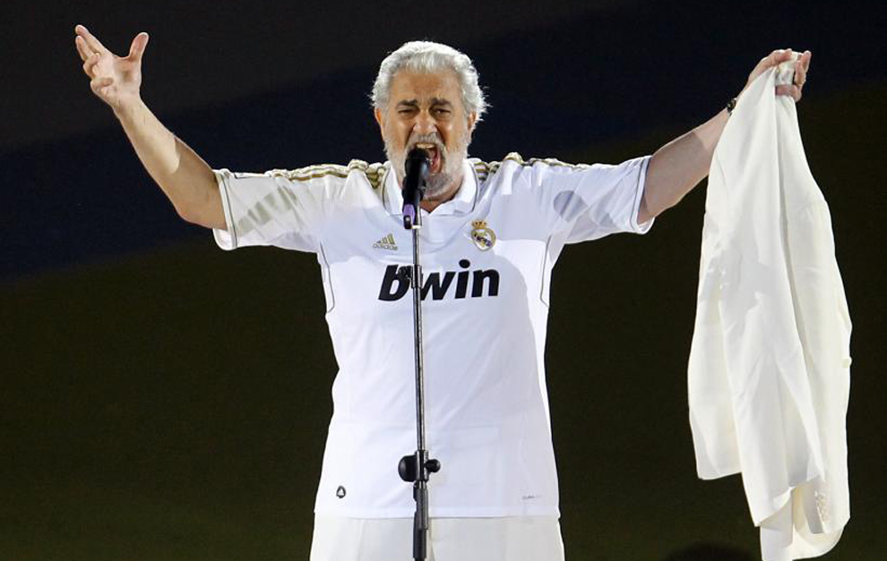 Real Madrid: Placido Domingo