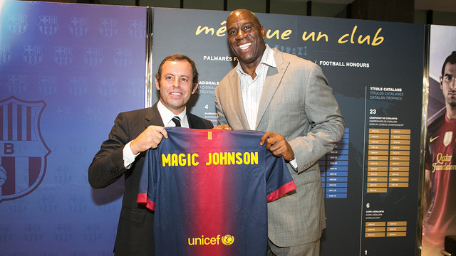 Barcelona: Magic Johnson