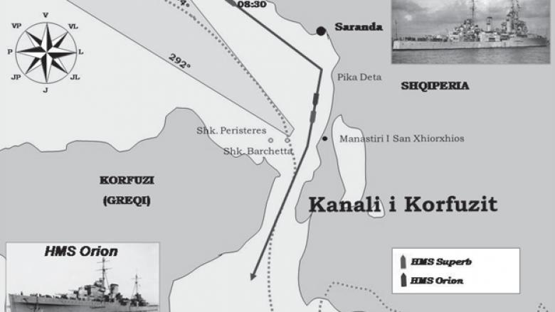 Si u provokua incidenti i Kanalit të Korfuzit?
