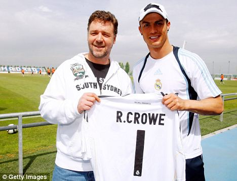 Real Madrid: Russell Crowe