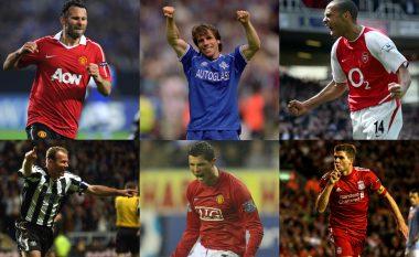 Këta janë 10-të futbollistët që kanë bërë më shumë asistime në histori të Ligës Premier (Foto)