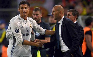 Zidane: Ronaldo, lojtari më i madh në histori të Realit