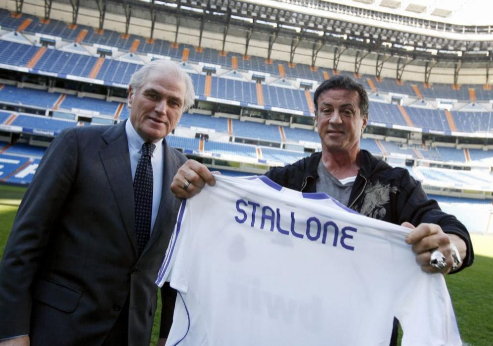 Real Madrid: Sylvester Stallone