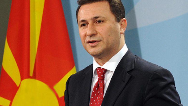 Gruevski ende ka mundësi të shkaktojë gjakderdhje