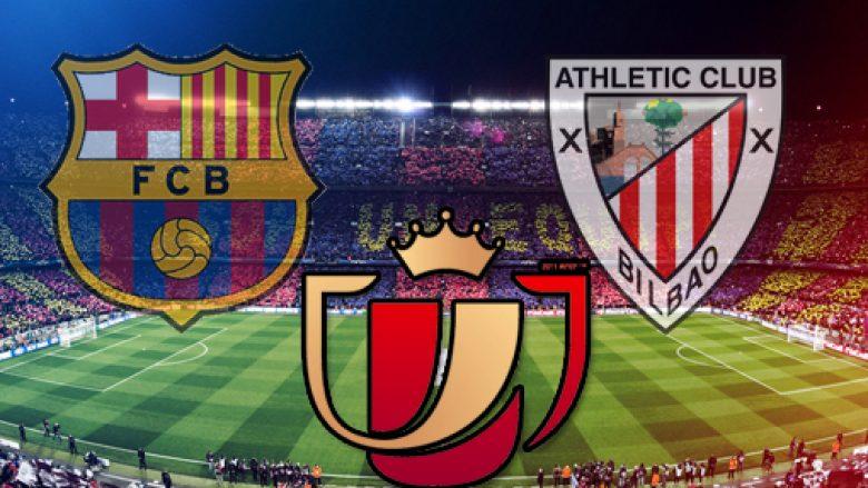 Formacionet zyrtare: Barca – Bilbao