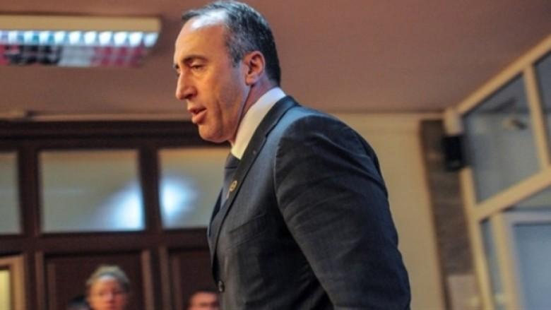 Haradinaj del nga takimi me Veselin