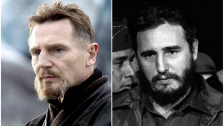 Liam Neeson dhe revolucionari kuban Fidel Castro