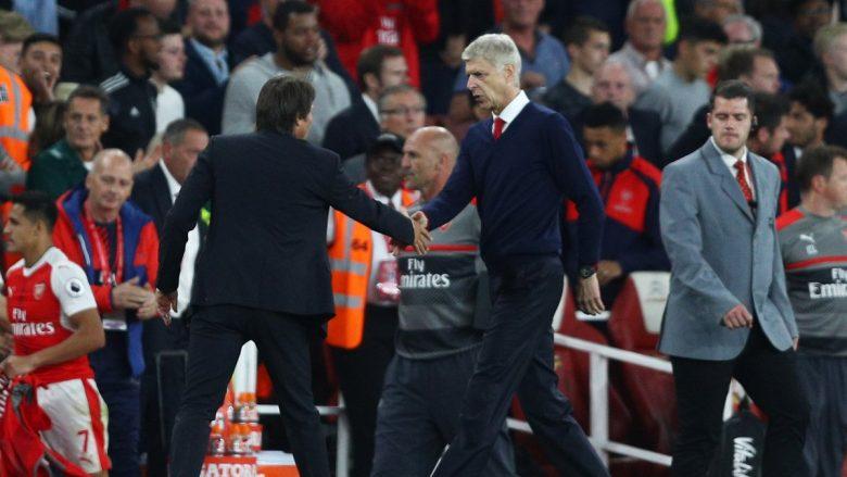 Conte i del në mbrojtje Wengerit