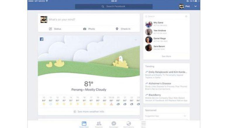 Facebook tani e parashikon edhe motin për një javë!