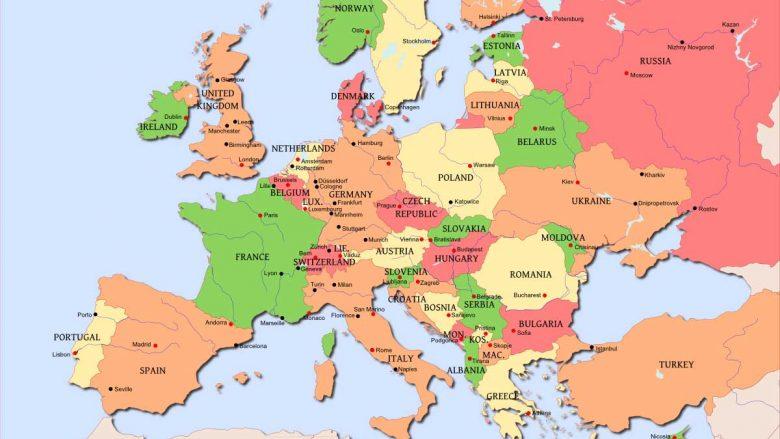 Harta Per Shofere Ne Danimarke Ku Serbia Nuk Ekziston Foto