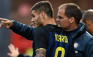 De Boer zbulon problemet me Icardin dhe Brozovicin te Interi