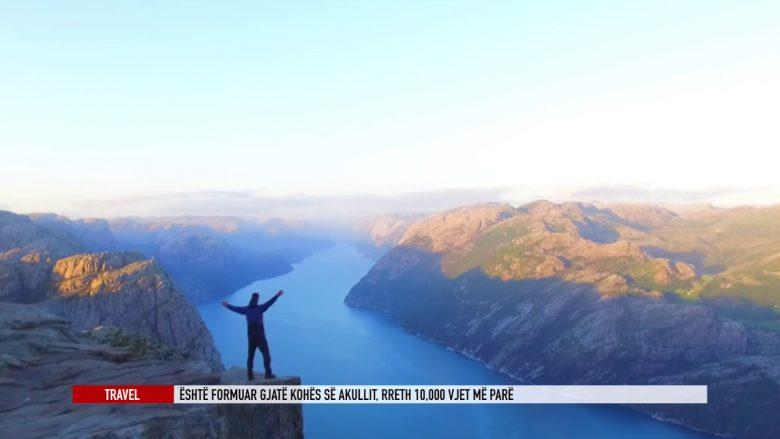 Preikestolen, një mrekulli natyrore në Norvegji (Video)