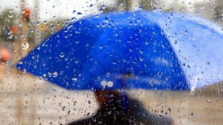 Më në fund, shi në Prishtinë (Video)