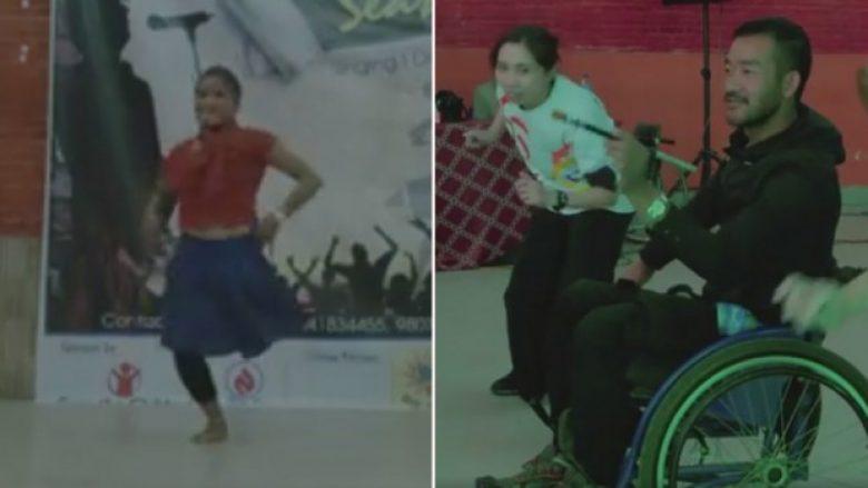 Edhe pse kanë probleme të ndryshme shëndetësore, kjo nuk i ndaloi ata të shfaqin talentin e tyre (Video)