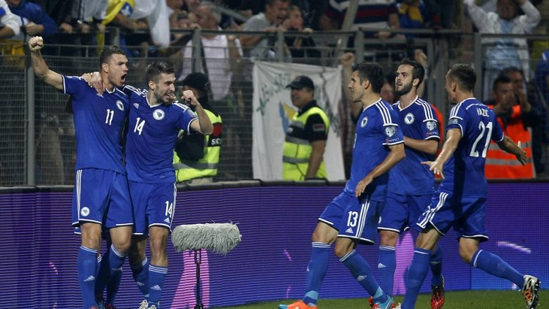 Bosnja me yje ndaj Shqipërisë