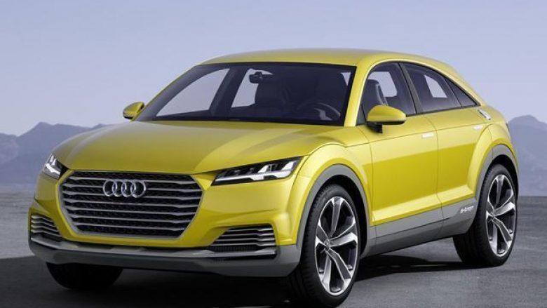 Audi Q4 lansohet më 2019,: Një sfidë për Range Rover Evoque dhe BMW X2 (Foto)