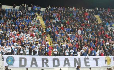 'Dardanët' emocionojnë lojtarët e Kosovës (Video)
