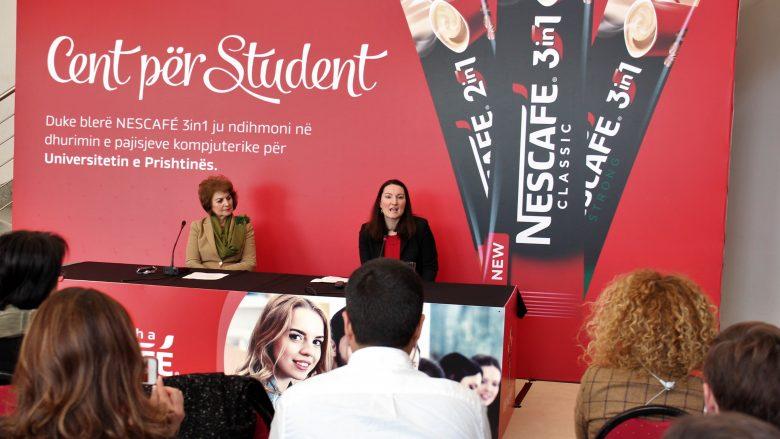 """Fushata """"Cent për student"""" mbështet studentët e UP-së"""