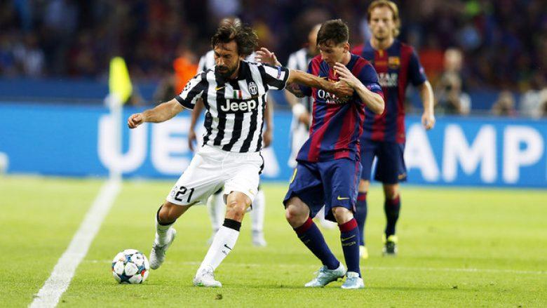 Pirlo: Juve mund ta eliminojë Barcelonën