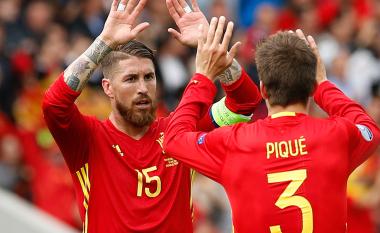 Pique i kundërpërgjigjet Ramosit: Ishte përmbysje historike