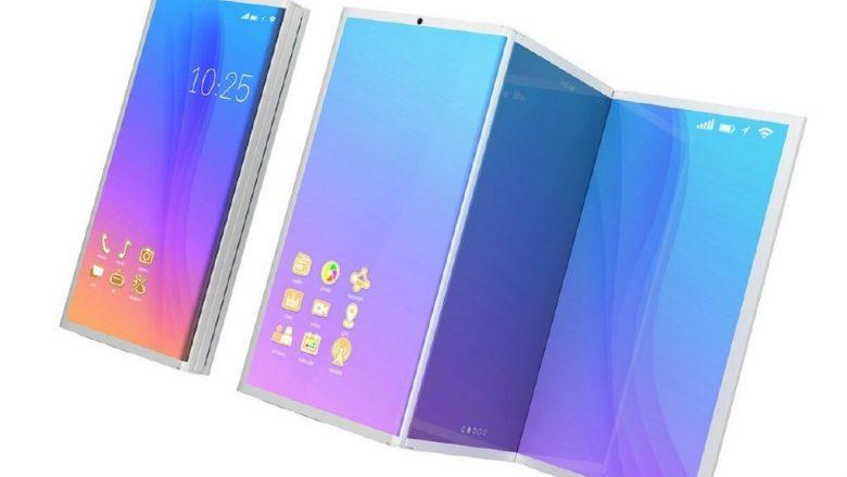 Galaxy X, koncepti i telefonit me 8GB RAM që palohet dhe bëhet tablet (VIDEO)