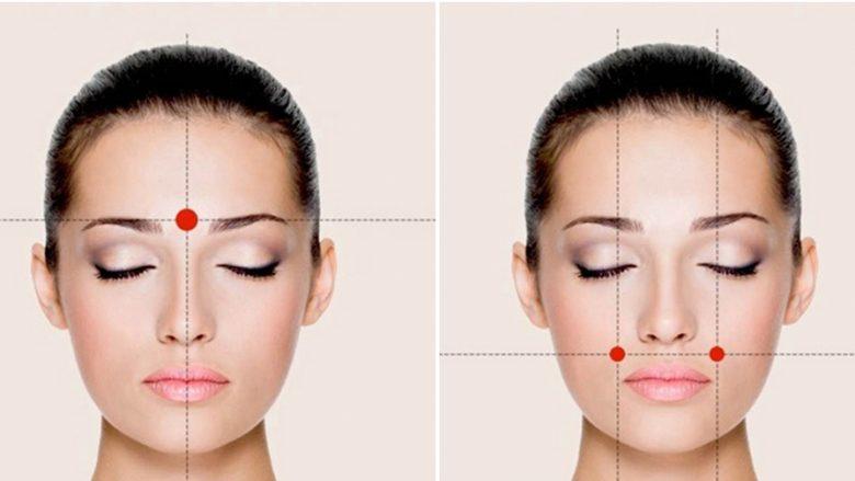 Gjashtë pikat që ju çlirojnë nga dhimbja e kokës me një lëvizje të vetme