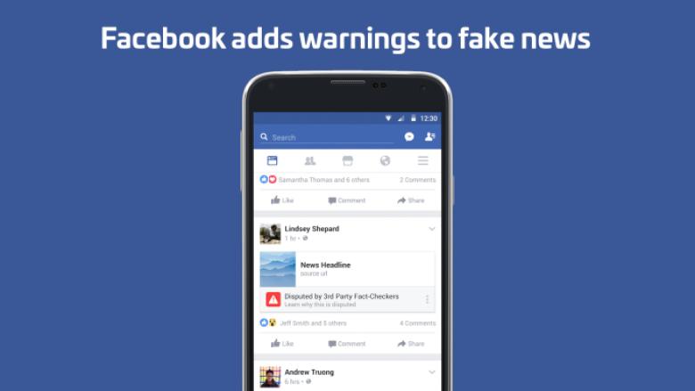 Facebook shton butonin Dispute, ndalon lajmet e pavërteta
