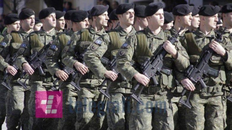 Ushtria jonë do t'i ketë  8 mijë ushtarë