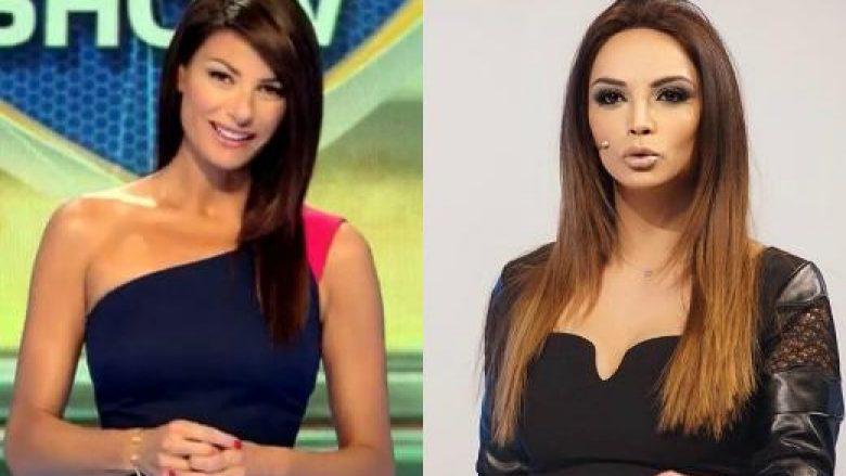 Ilaria D'Amico-Vilma Masha, moderojnë emisionet që kanë lidhje me kampionatet respektive, Seria A dhe Superliga Shqiptare.