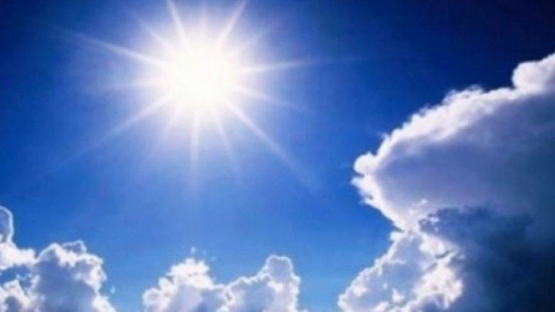 Vikendi i nxehtë, temperaturat deri në 31 gradë