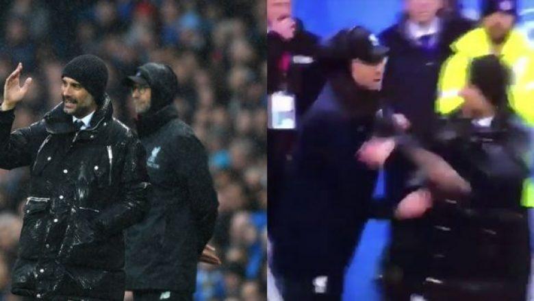 Guardiola dhe Klopp vijnë me mosmarrëveshje më miqësore që kemi parë ndonjëherë (Video)